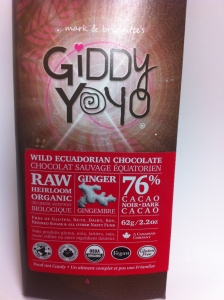 The most wonderful raw chocolate which I devoured rather quickly.