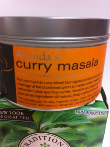 This curry masala that I absolutely love.