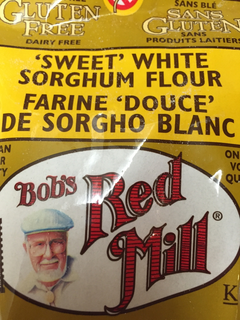 This is the sorghum flour I used.